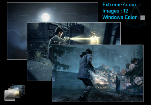 Alan Wake theme for Windows 7 and 8 Poster