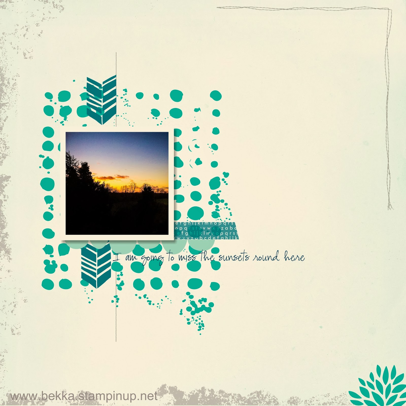Digital Scrapbook Page featuring some new Free Downloads - check this out!