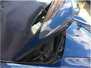 Vérifier le mécanisme de la capote de votre Porsche Boxster 986 2