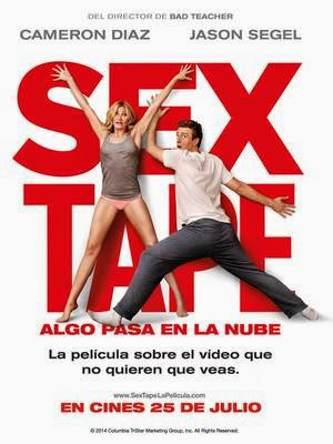 Poster Sex Tape 2014