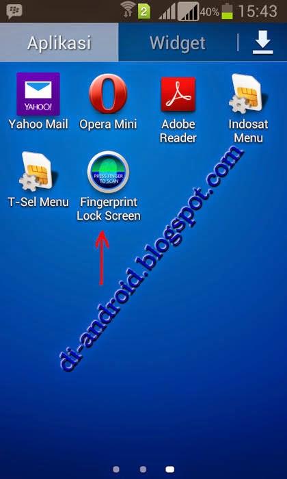 Cara Mengunci Android Menggunakan Sidik Jari
