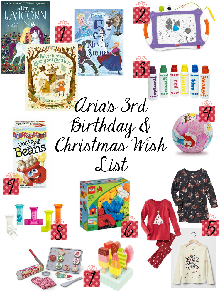 Sweet Turtle Soup: Aria\'s 3rd Birthday & Christmas Wish List ...