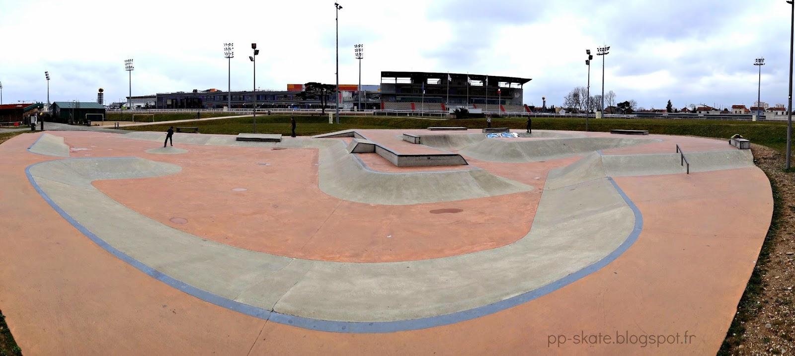 Skatepark Vaulx en velin Carré soie Lyon