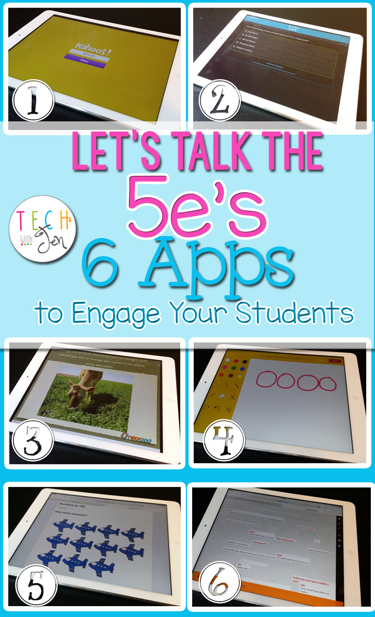 Great list of apps to engage your students.