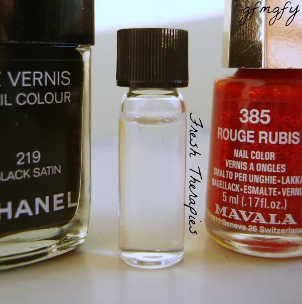 02/09/13: Fresh Therapies Eden Nail Polish Remover vs Chanel ...