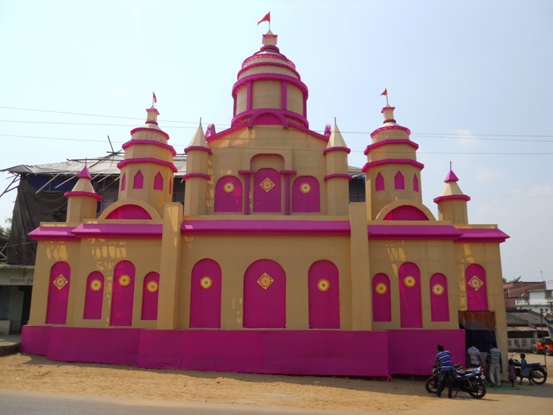 Orissa tourism places an inside view rourkela durga puja 2014 deogaon thecheapjerseys Image collections