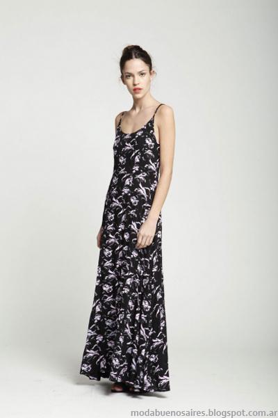 Leandro Dominguez vestidos moda primavera verano 2014