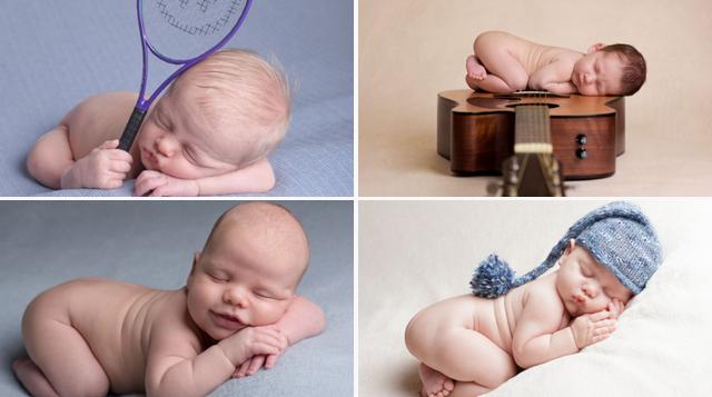 Imágenes de bebé absurdamente lindos  bebés se duermen Karen Wiltshire