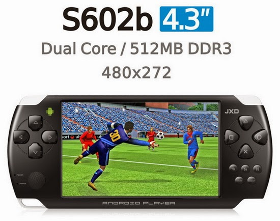 ... latest Android Jelly Bean 4.1.1 stock firmware for JXD S602b game pad