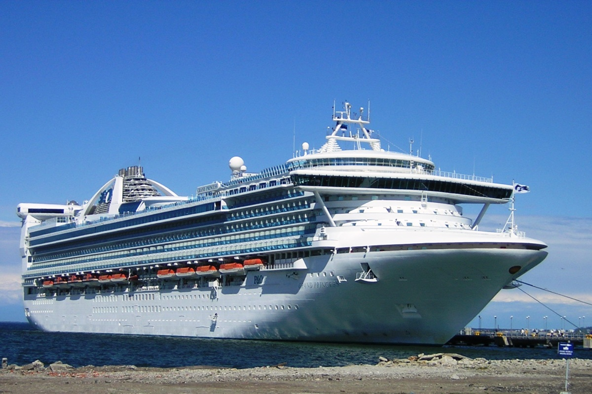 Grand Princess Cruise Ship 1