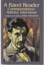 Arbie Orenstein (anthologie de la correspondance de Ravel en anglais)
