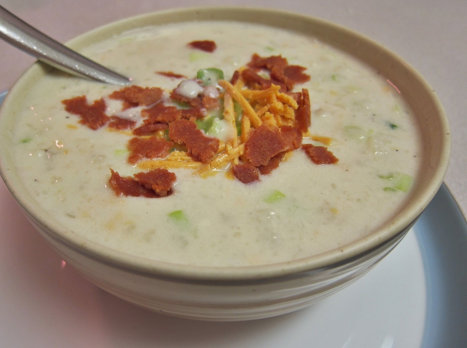 The Vegan Chronicle: Baked Potato Soup