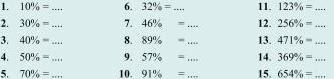 Soal Matematika SD Kelas 6 - Mengubah Bentuk Persen Menjadi Bentuk Desimal