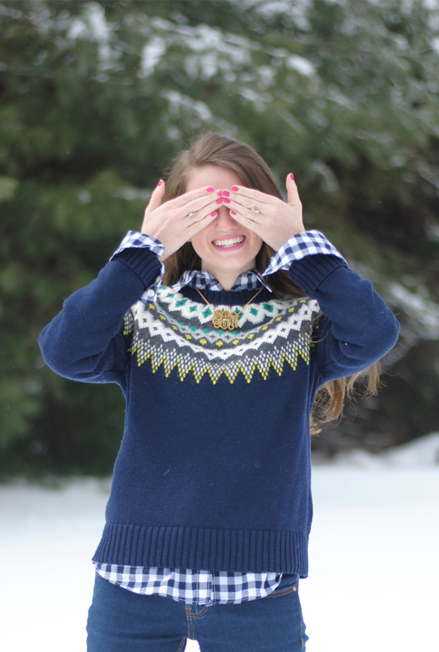 Southern Curls & Pearls: Snow Day!