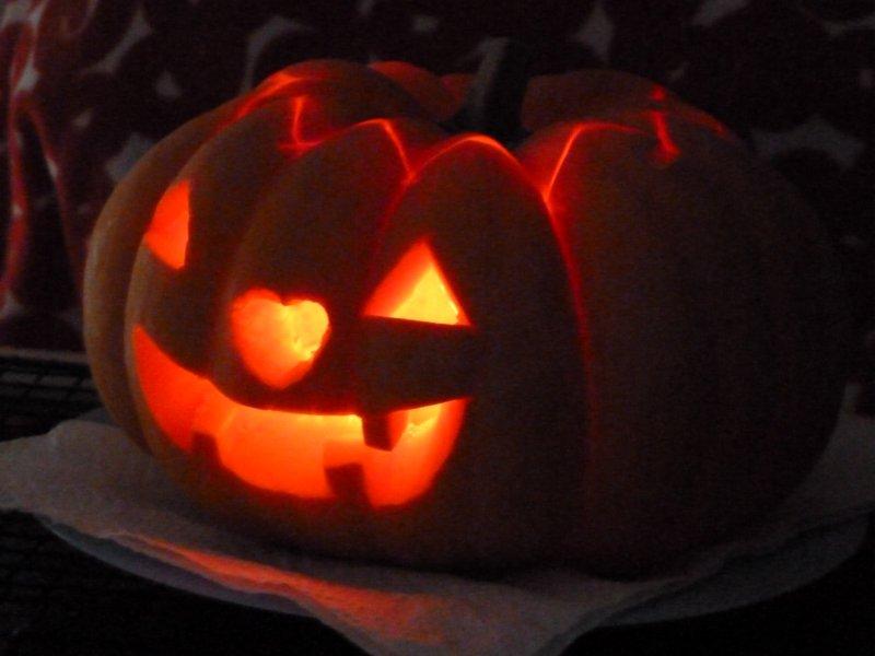 Lanterna de Halloween