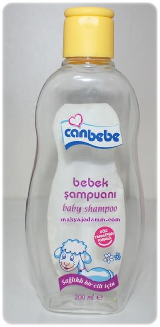 canbebe bebek şampuanı