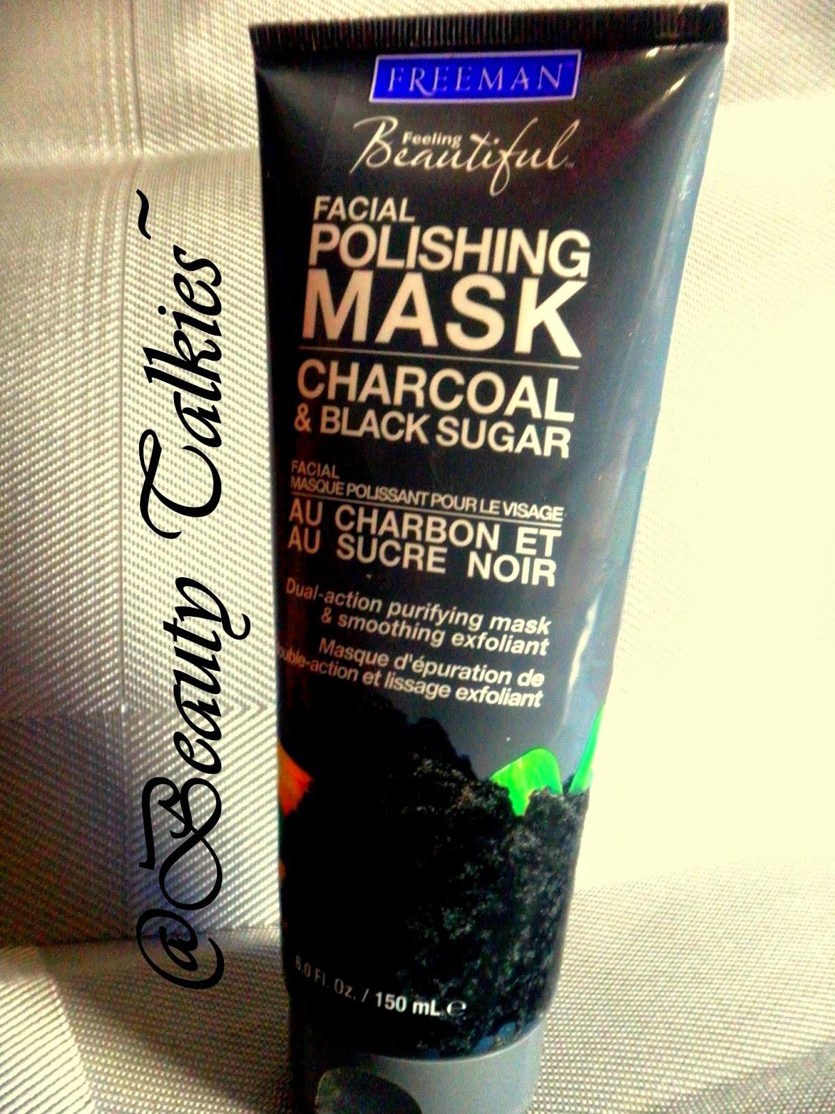 freeman charcoal black sugar polishing mask купить
