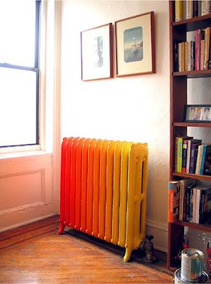 Decora el radiador: Píntalo