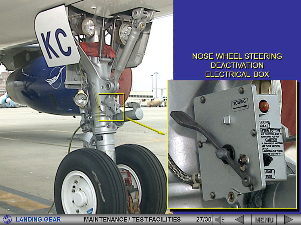 a320 landing gear system 2017-11-8  1210 brakes and accumulator pressure indicator 1220 landing gear system displays 1230 emergency gravity gear extension handle 1240 landing gear.