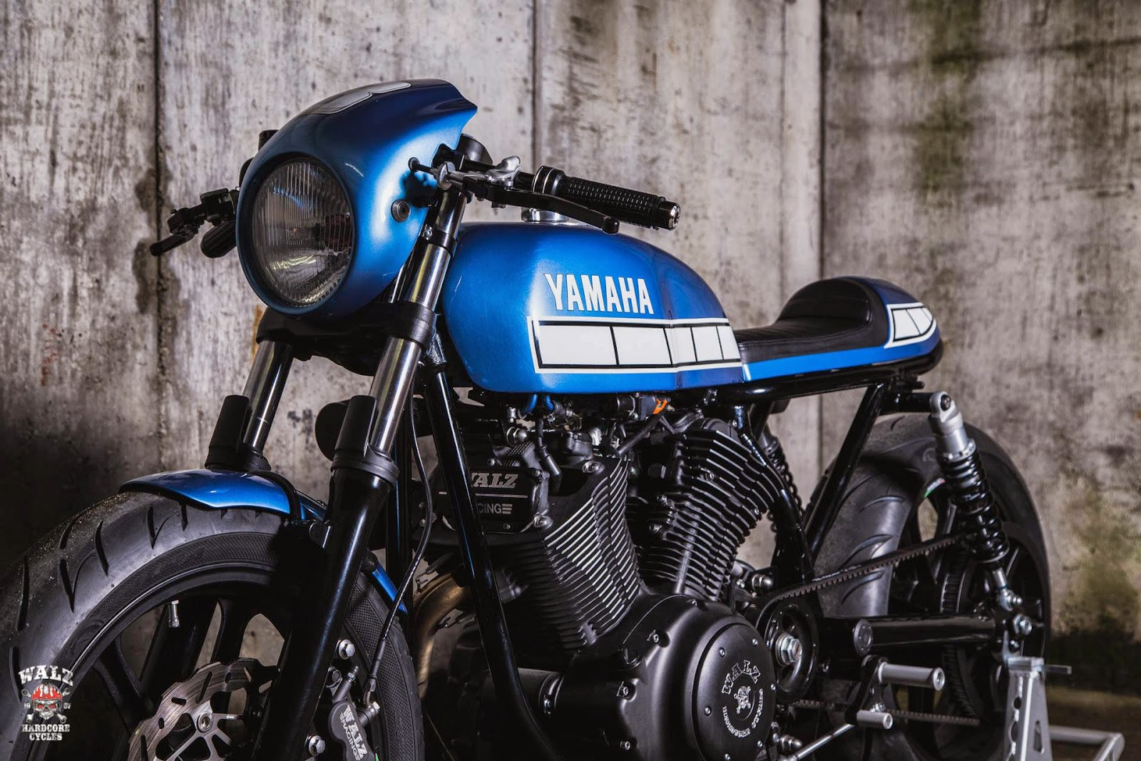 racing caf yamaha xv 950 el rat n asesino by walzwerk racing. Black Bedroom Furniture Sets. Home Design Ideas