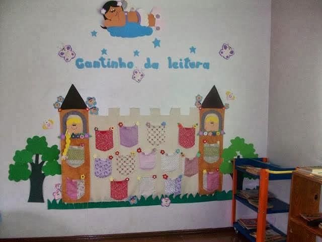 El arte de educar ideas para decorar y organizar el for Decoracion de espacios de preescolar