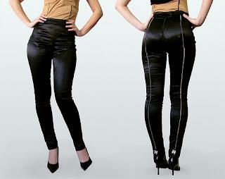 Komfort und Eleganz mit femininen twill pants