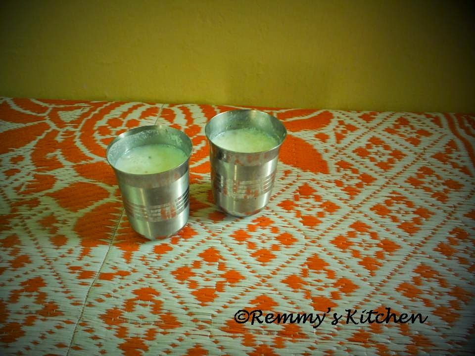 Sambharam/Spiced butter milk