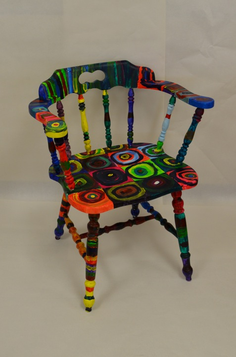 expedition art chairs for charity