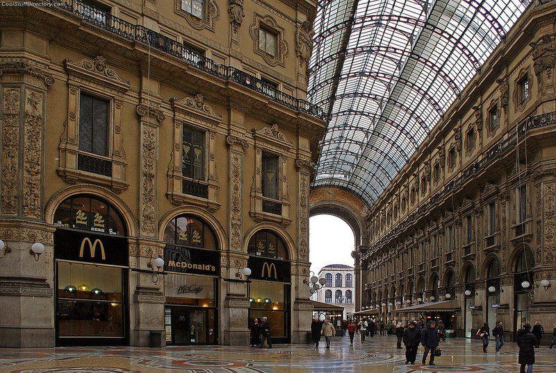 Galleria Vittoria Emanuele, Milan, Italy