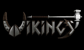 Vikings V Logo History Channel Almost Artist Team Design