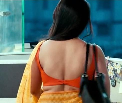 Rani Mukherjee blouse back