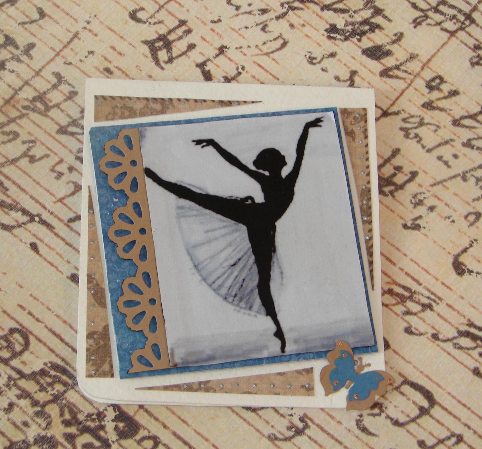 Картинки с балериной для открыток 431