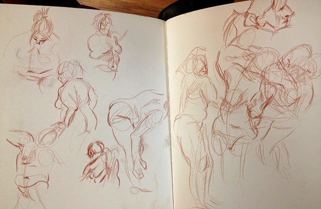 Nyack Center Figure Drawing Nyack Center Figure Drawing