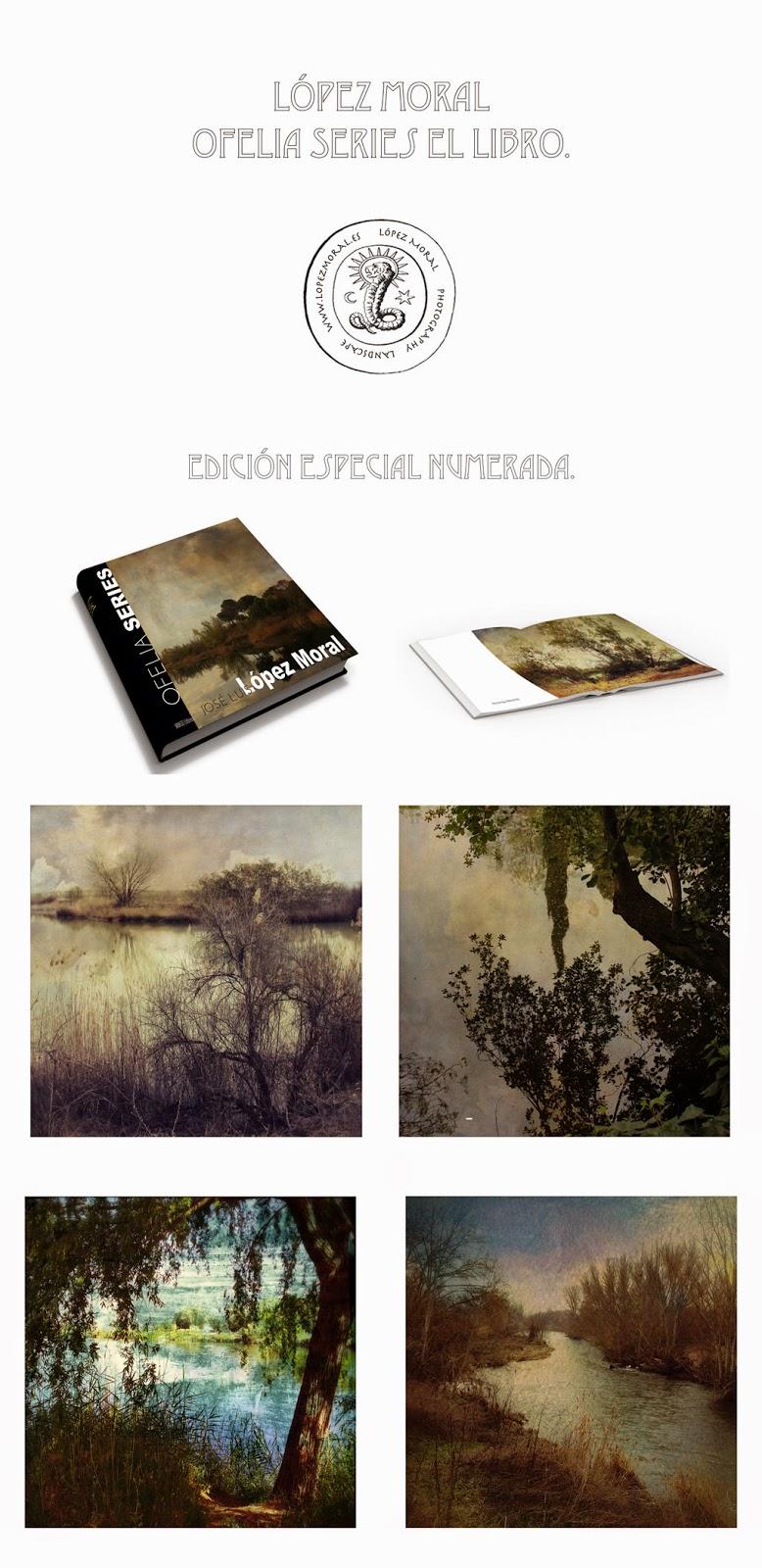 phto book,art Photo, ofelia, edicion limitada, Lopez Moral, Ophelia, fotolibro, ventas de fotografia