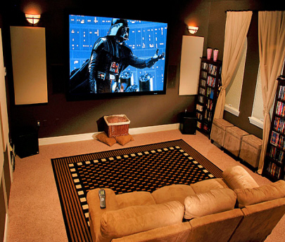Carol brechzin home tips for home theater room design ideas for Small room movie theater