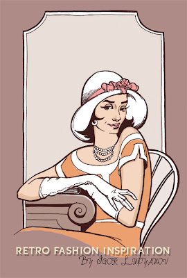 moda de mujer vintage
