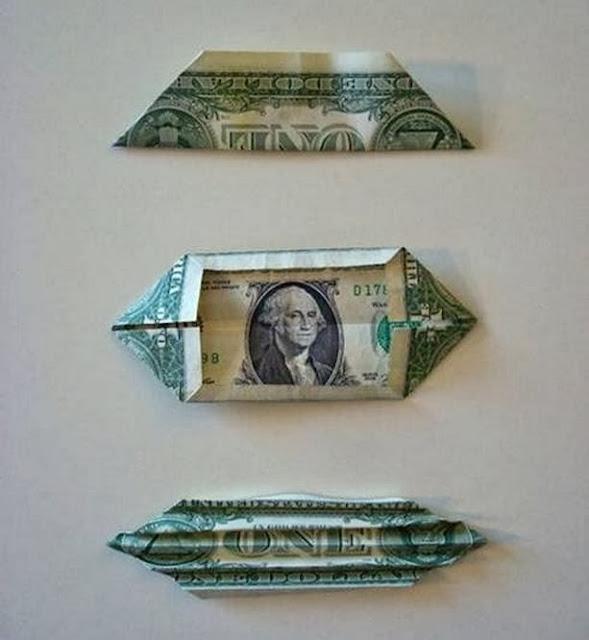 Бабочка своими руками из денежных купюр 64