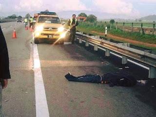 Kemalangan maut pagi tadi di Bke Highway