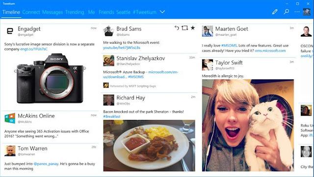 Tweetium App