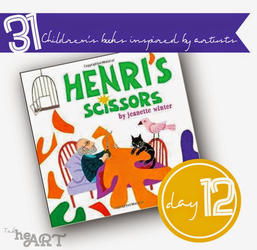 take heart 31 days of children s books inspired by artists day 12