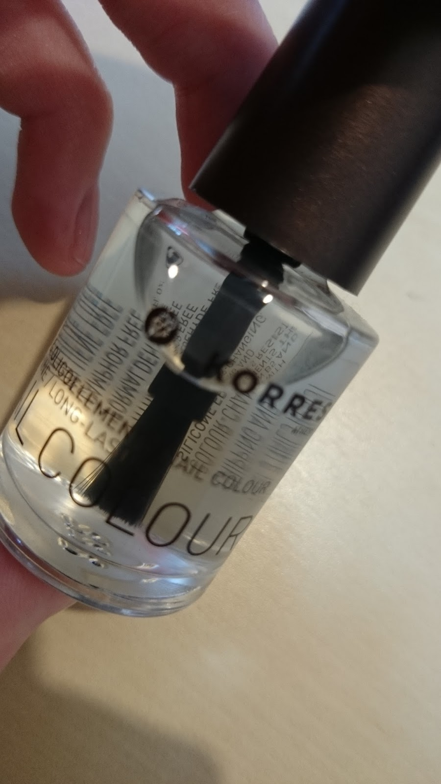 Korres Nail Colour Provitamin B5 & Oligoelements Base Coat