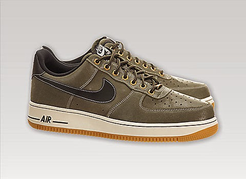 Nike Air Force 1 Black And Brown