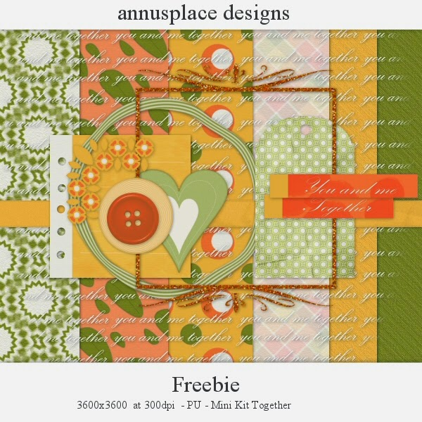 Freebie Mini kit from Annu's Place Designs