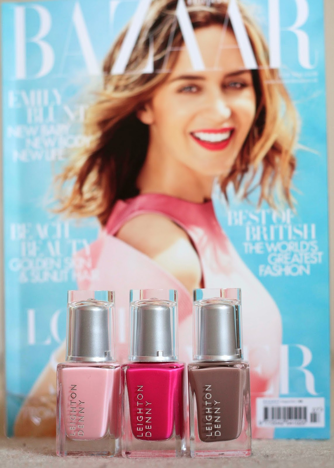 Elaine Nails: Free Leighton Denny Harpers Bazaar Part 1