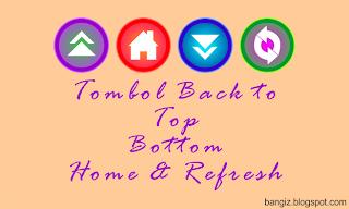 tombol back to top dan bottom