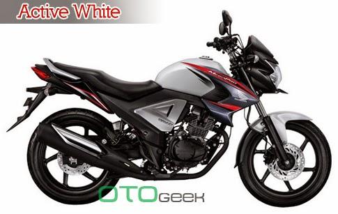 Honda New MegaPro Fi Active White