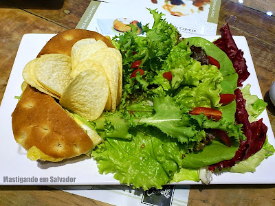 Cristallo: Sanduíche Splendido