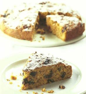 Torta de Zanahoria Manzana y pasas