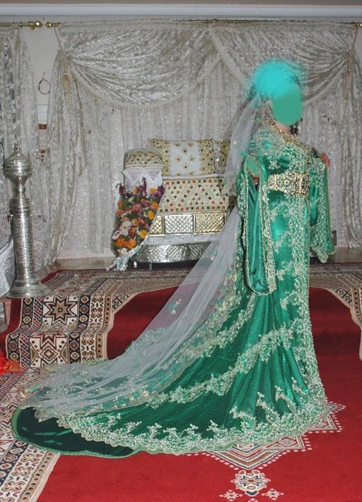 لباس العروس المغربية