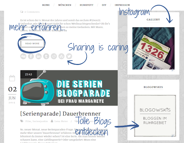 Neues Blog-Design: Sharing is caring!